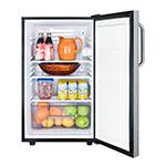 Summit FF521BLBI7SSTBADA 4.1-cu ft Undercounter Refrigerator w/ (1) Section & (1) Door, 115v