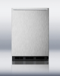 Summit Refrigeration FF6B7SSHH 5.5-cu ft Undercounter Refrigerator w/ (1) Section & (1) Door, 115v