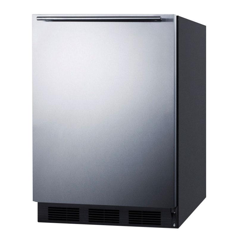 Summit FF6B7SSHH 5.5-cu ft Undercounter Refrigerator w/ (1) Section & (1) Door, 115v