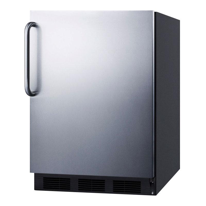 Summit FF6BBI7SSTBADA 5.5-cu ft Undercounter Refrigerator w/ (1) Section & (1) Door, 115v