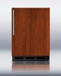 Summit Refrigeration FF6BBIIF 5.5-cu ft Undercounter Refrigerator w/ (1) Section & (1) Door, 115v