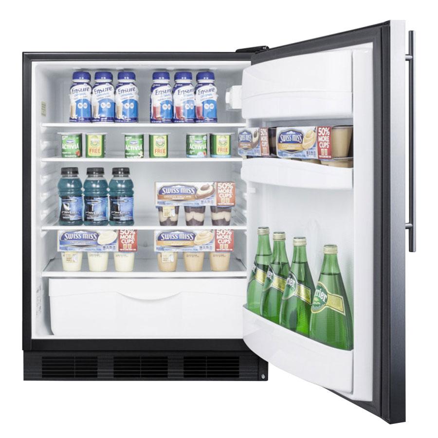 Summit FF6BBISSHVADA Undercounter Medical Refrigerator - ADA Compliant, 115v