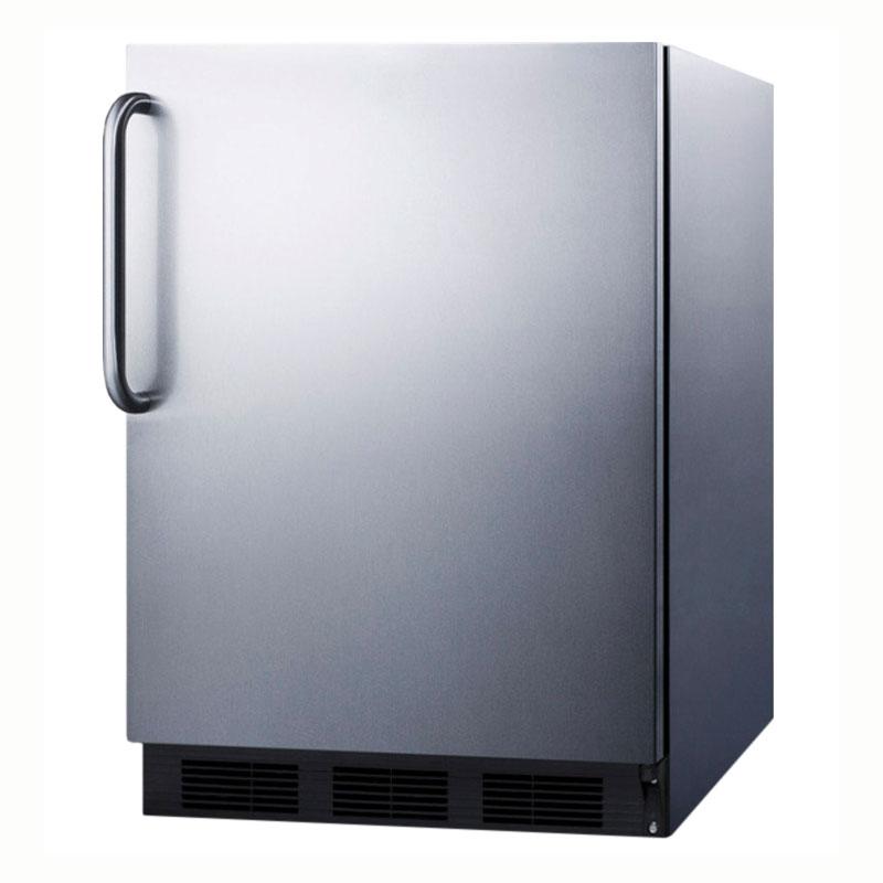 Summit Refrigeration FF6BCSSADA 5.5-cu ft Undercounter Refrigerator w/ (1) Section & (1) Door, 115v