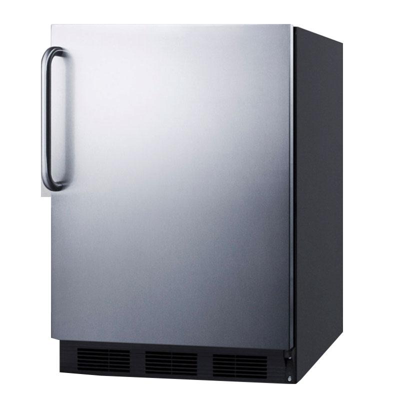 Summit FF7BBISSTB 5.5-cu ft Undercounter Refrigerator w/ (1) Section & (1) Door, 115v