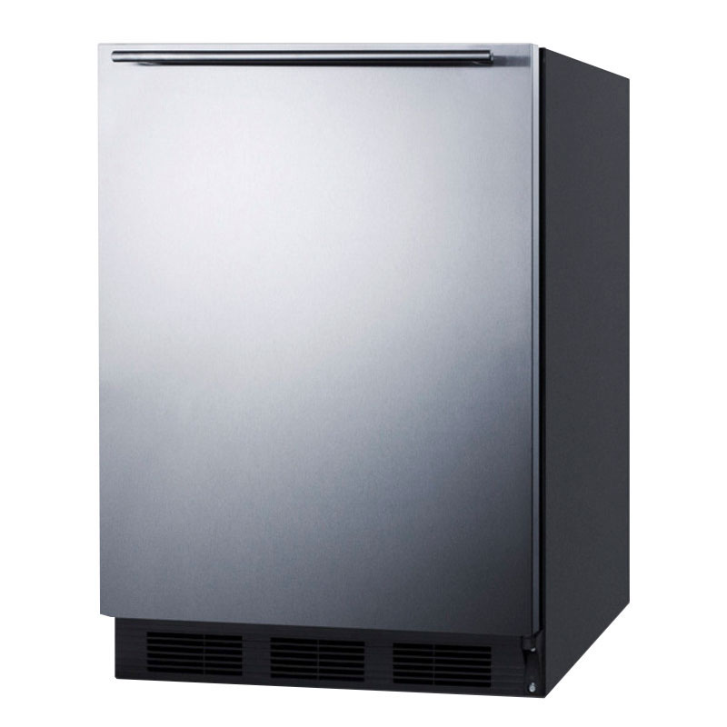 Summit FF7BSSHH 5.5-cu ft Undercounter Refrigerator w/ (1) Section & (1) Door, 115v