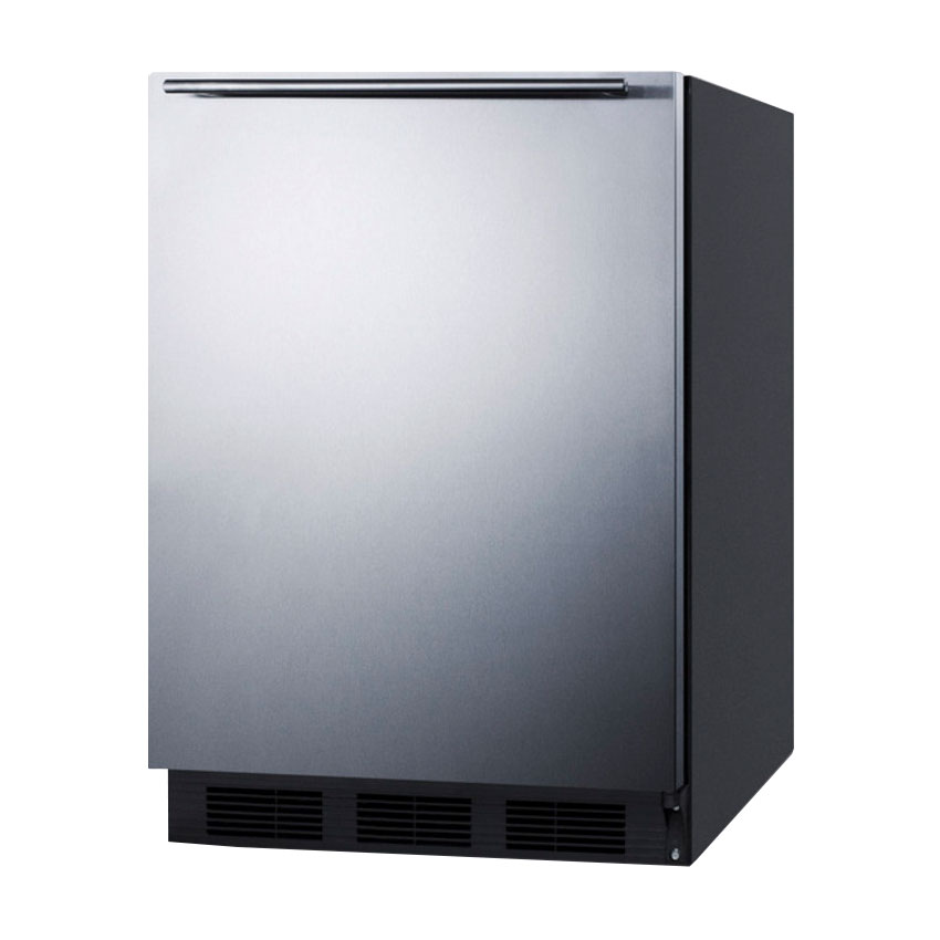 Summit FF7BSSHHADA 5.5-cu ft Undercounter Refrigerator w/ (1) Section & (1) Door, 115v