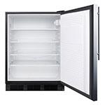 Summit FF7BSSHV 5.5-cu ft Undercounter Refrigerator w/ (1) Section & (1) Door, 115v