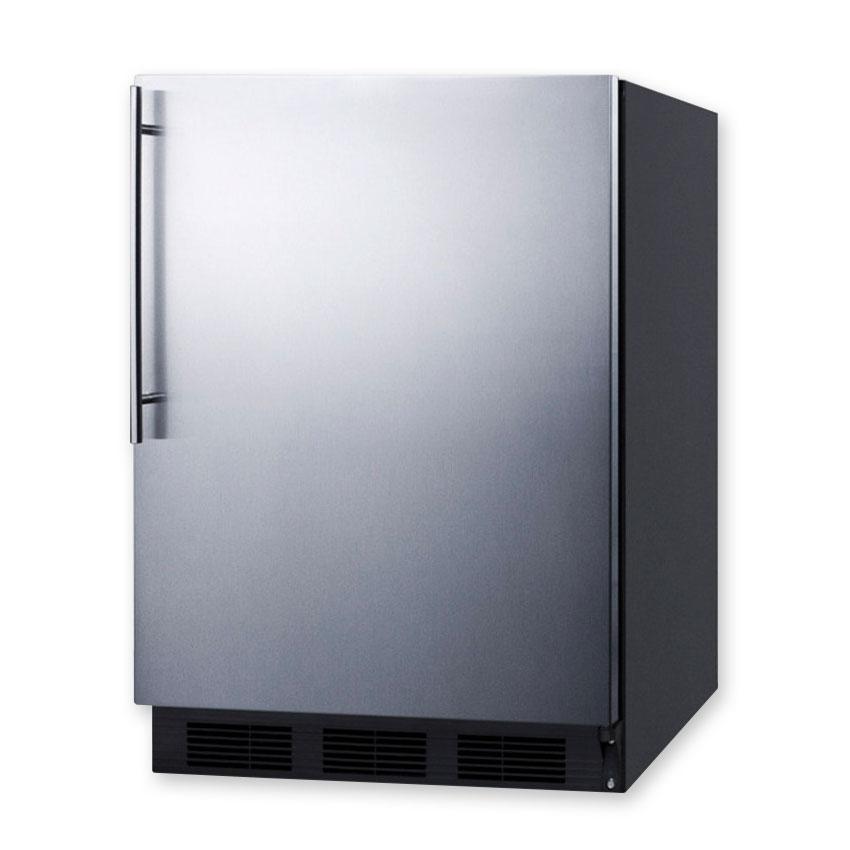 Summit FF7BSSHVADA 5.5-cu ft Undercounter Refrigerator w/ (1) Section & (1) Door, 115v