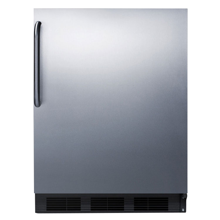 Summit FF7BSSTBADA 5.5-cu ft Undercounter Refrigerator w/ (1) Section & (1) Door, 115v