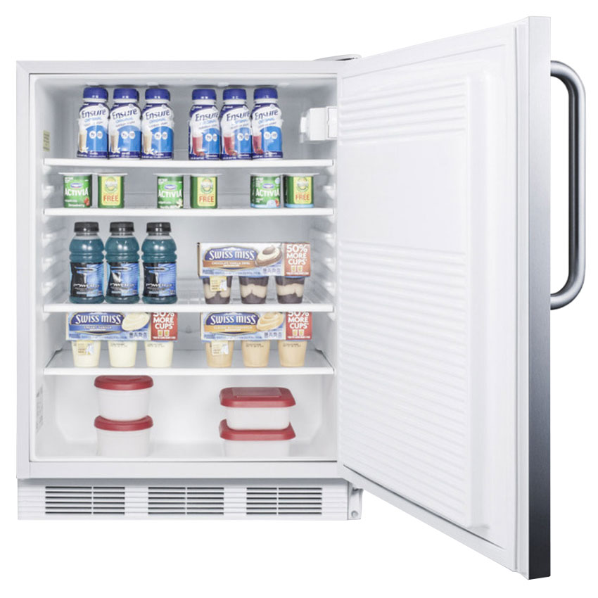 Summit FF7CSSADA 5.5-cu ft Undercounter Refrigerator w/ (1) Section & (1) Door, 115v