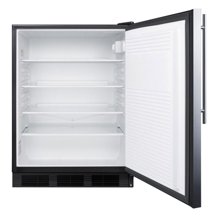 Summit FF7LBLBISSHVADA Undercounter Medical Refrigerator - Locking, 115v