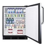 Summit FF7LBLBISSTBADA Undercounter Medical Refrigerator - Locking, 115v