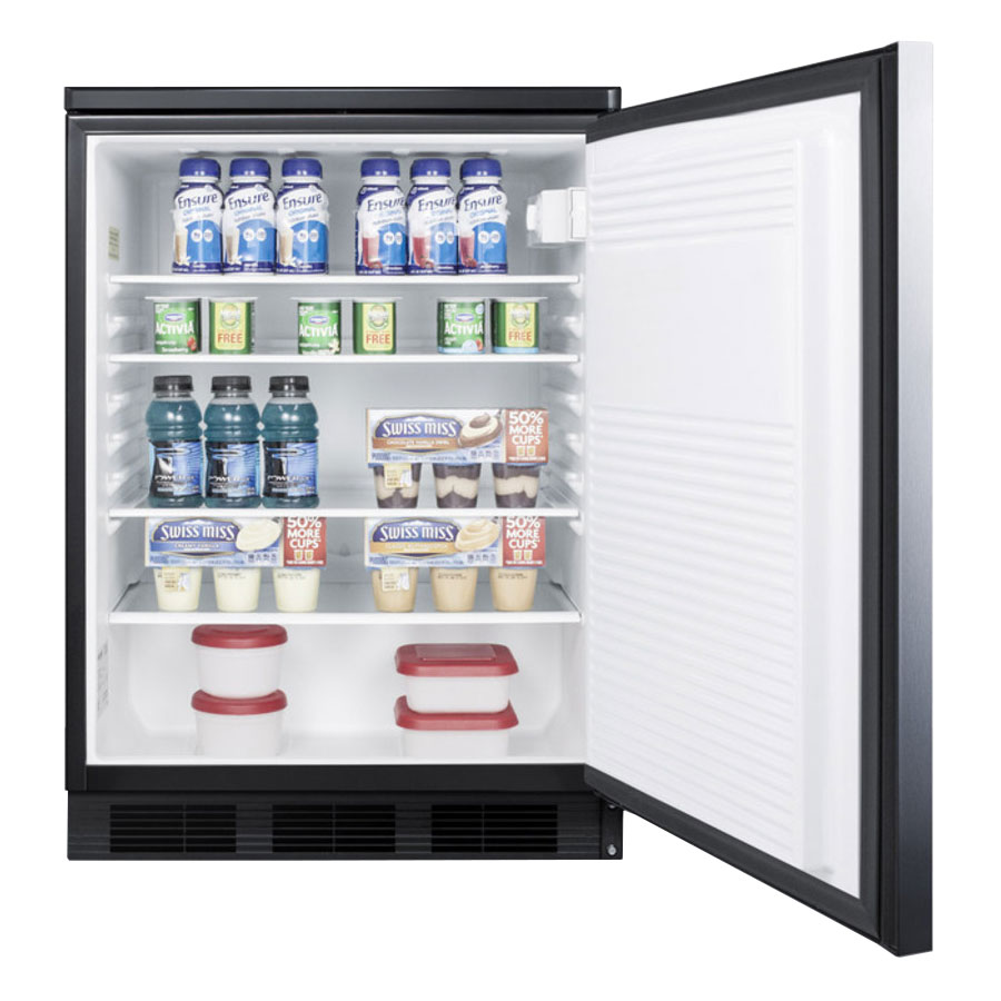 Summit FF7LBLSSHH Undercounter Medical Refrigerator - Locking, 115v