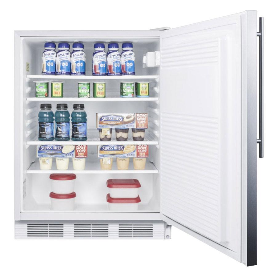 Summit FF7SSHVADA Undercounter Medical Refrigerator - ADA Compliant, 115v
