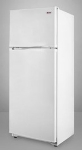 Summit Refrigeration FF882W 23.25-in Refrigerator Freezer w/ 2-Doors & Adjustabl