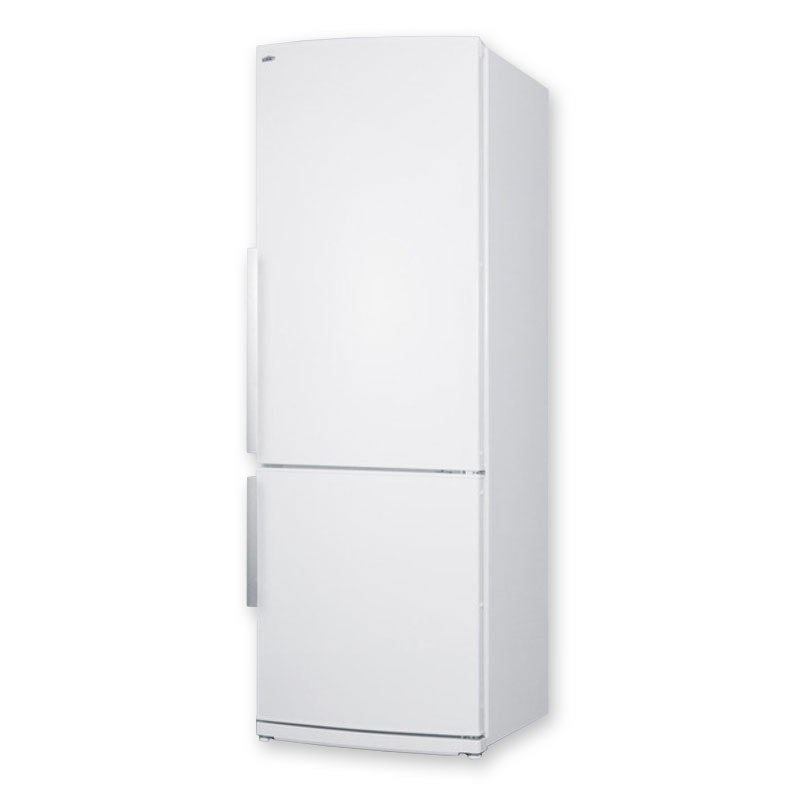 Summit FFBF280WX 13.81-cu ft Refrigerator Freezer, Auto Defrost, White