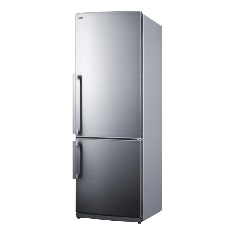 "Summit FFBF285SSX 28"" Refrigerator Freezer w/ Auto Defrost, 13.81 cu ft, 115v"