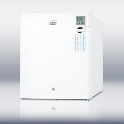 Summit Refrigeration FS22LMED Countertop Medical Freezer - Temperature Alarm, 115/60/1