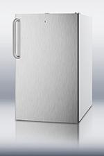 Summit Refrigeration FS407L7SSTBADA 2.8-cu ft Undercounter Freezer w/ (1) Section & (1) Door, 115v