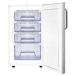 Summit FS407LBI7SSTB 2.8-cu ft Undercounter Freezer w/ (1) Section & (1) Door, 115v