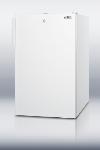 Summit Refrigeration FS407LBIADA 20-in Undercounter Freezer w/ Lock, White, 2.8-cu ft, ADA