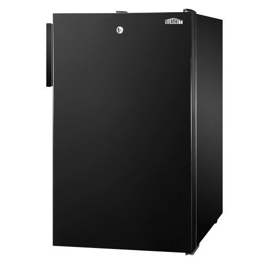 Summit FS408BLBI Built In Freezer w/ Lock, 2.8-cu ft, Black