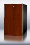 Summit Refrigeration FS408BLBIIF Built In Freezer, Integrated Door Frame, Lock, 2.8-cu ft, Black