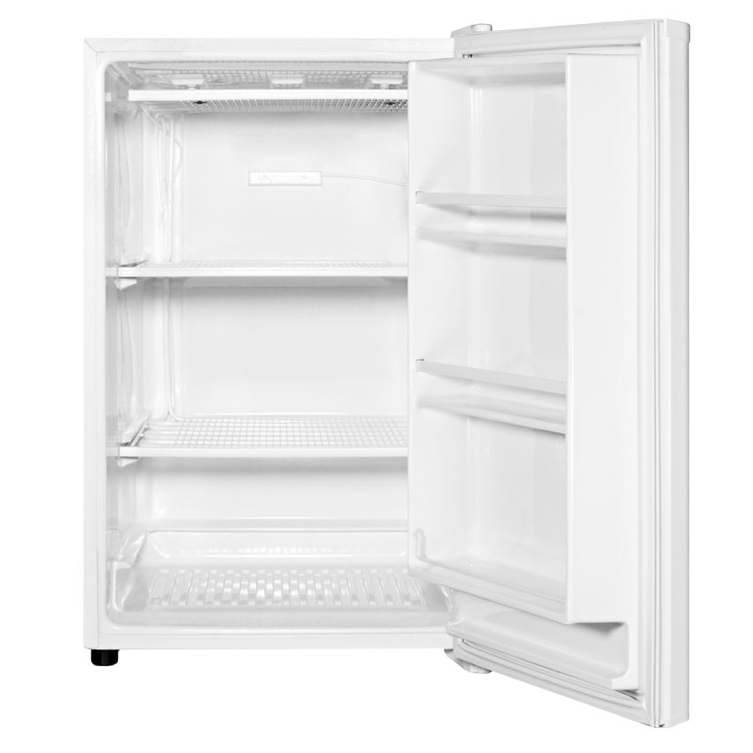 "Summit FS603 22"" Single Section Reach-In Freezer, (1) Solid Door, White"