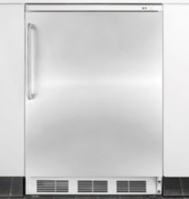 Summit Refrigeration FS62BIFR Undercounter Freezer Manual Defrost Stainless Door Restaurant Supply