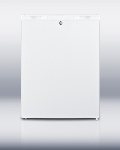 Summit Refrigeration FSM50LESADA Counter Height Freezer w/ Manual Defrost & 5-Shelves, White, 4.4-cu ft, ADA