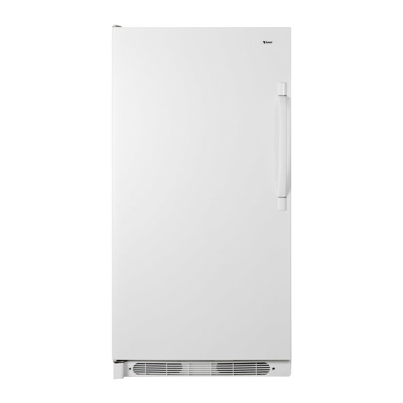 Summit R17FFLHD 1-Section Refrigerator w/ (4) Shelves, White, 16.5-cu ft