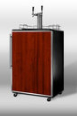 Summit Refrigeration SBC4907FRTWIN Beer Dispenser SS Frame Converts to Refrigerator Twin Tap 23 3/4in 1 Keg Restaurant Supply