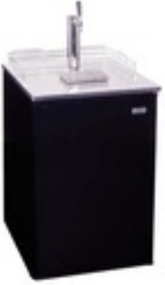 Summit Refrigeration SBC500BSSTB7 Beer Dispenser Sankey System/Draft Tower CO2 Tank/Reg SS Door 24 in 1 Keg Restaurant Supply