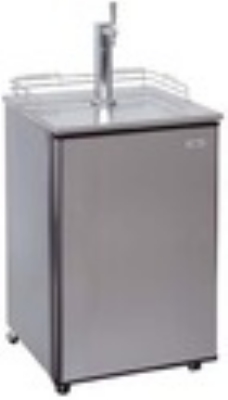 Summit Refrigeration SBC500SSST7 Beer Dispenser Sankey System CO2 Tank/Reg Black Cab SS Door 24 in 1 Keg Restaurant Supply