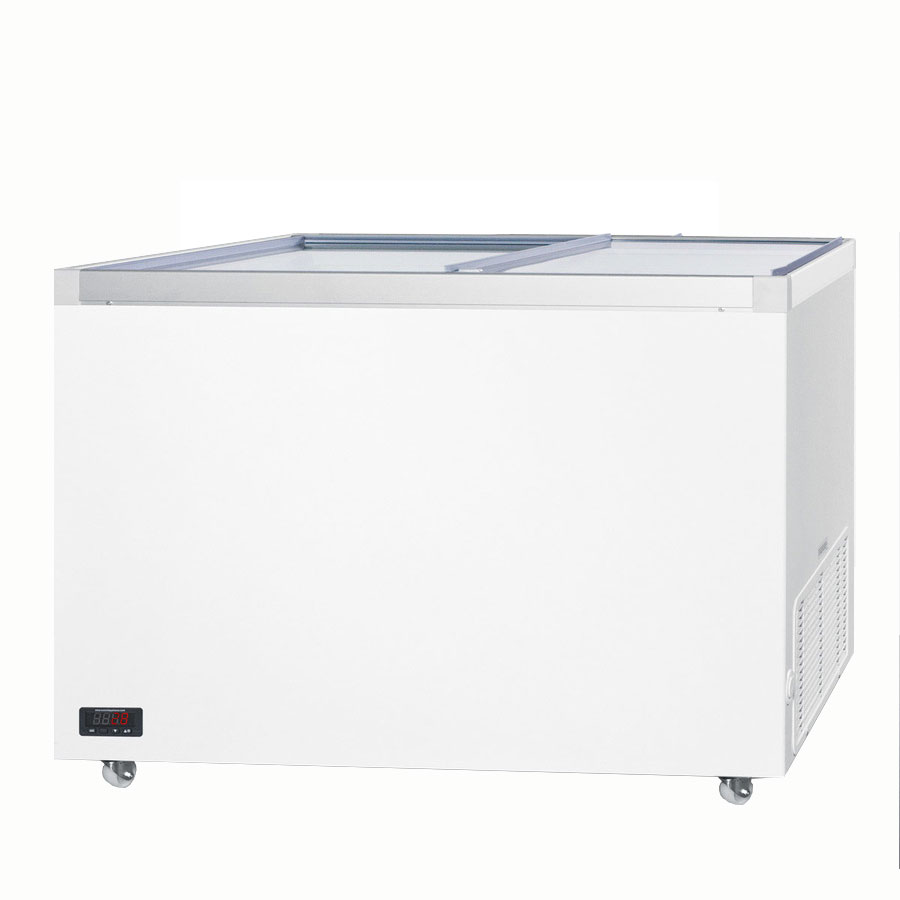 "Summit SCF1312DT 50"" Mobile Ice Cream Freezer, 115v"