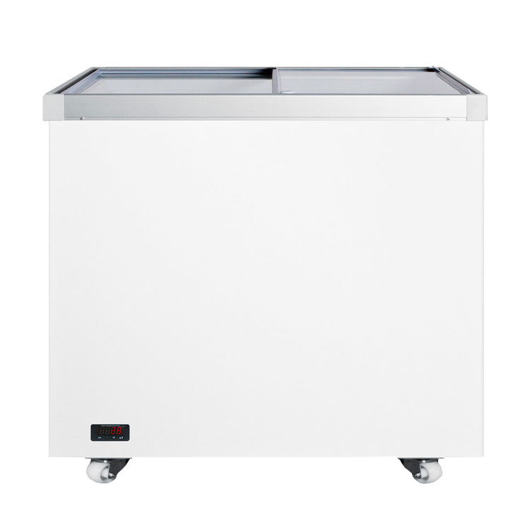 "Summit SCF942DT 36"" Mobile Ice Cream Freezer, 115v"