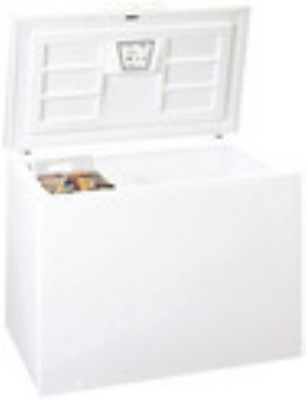 Summit Refrigeration SCFF150 Chest Freezer White Forced Air Cool Front Lock Frost-Free Defrost 15.0 NSF Restaurant Supply