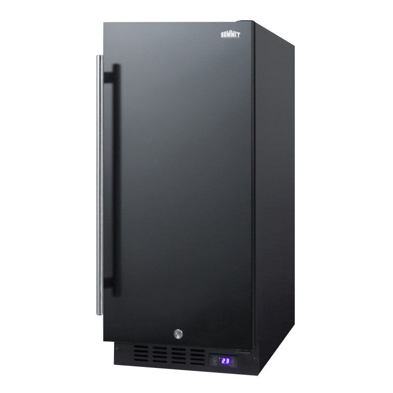 Summit SCFF1537B 2.4-cu ft Undercounter Freezer w/ (1) Section & (1) Door, 115v