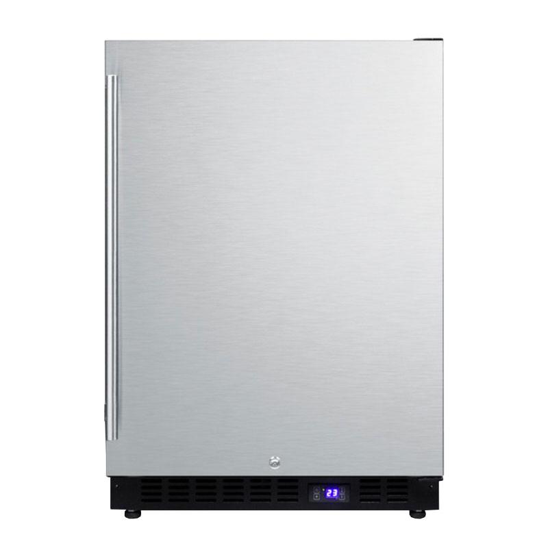 Summit SPFF51OS Outdoor Freezer w/ Digital Thermostat, Lock & Reversible Door, LED, 4.72-cu ft