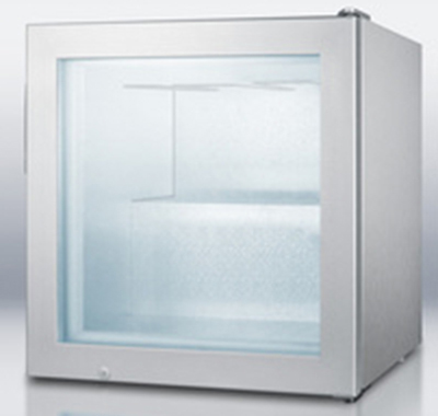 "Summit Refrigeration SCFU386CSSVK 23.5"" Vodka Chiller - Manual Defrost, 2 cu ft, Stainless"