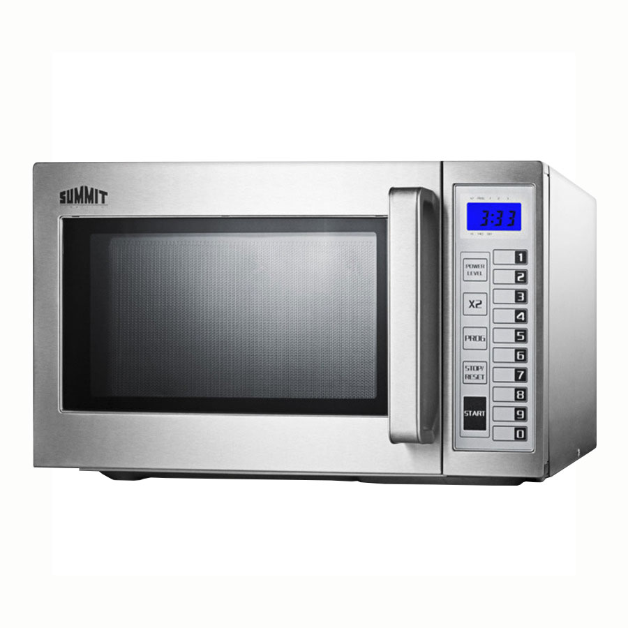Summit SCM1000SS 1000w Commercial Microwave with Touch Pad, 115v
