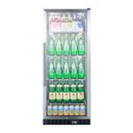 """Summit SCR1156CSS 24"""" One-Section Glass Door Merchandiser w/ Swing Door, 115v"""
