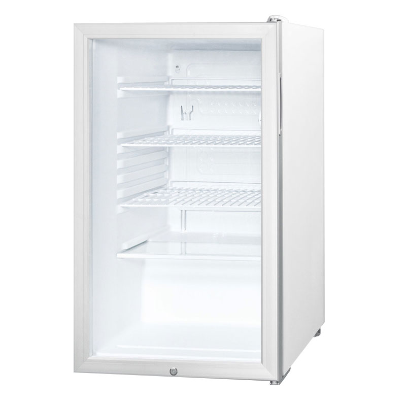 Summit SCR450L7ADA 4.1-cu ft Undercounter Refrigerator w/ (1) Section & (1) Door, 115v