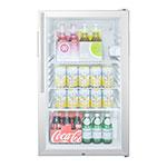 Summit SCR450L7HV 4.1-cu ft Undercounter Refrigerator w/ (1) Section & (1) Door, 115v