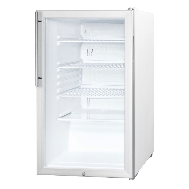 Summit SCR450L7HV 4.1-cu ft Undercounter Refrigerator w/ (1) Section & (1) Door, 115v