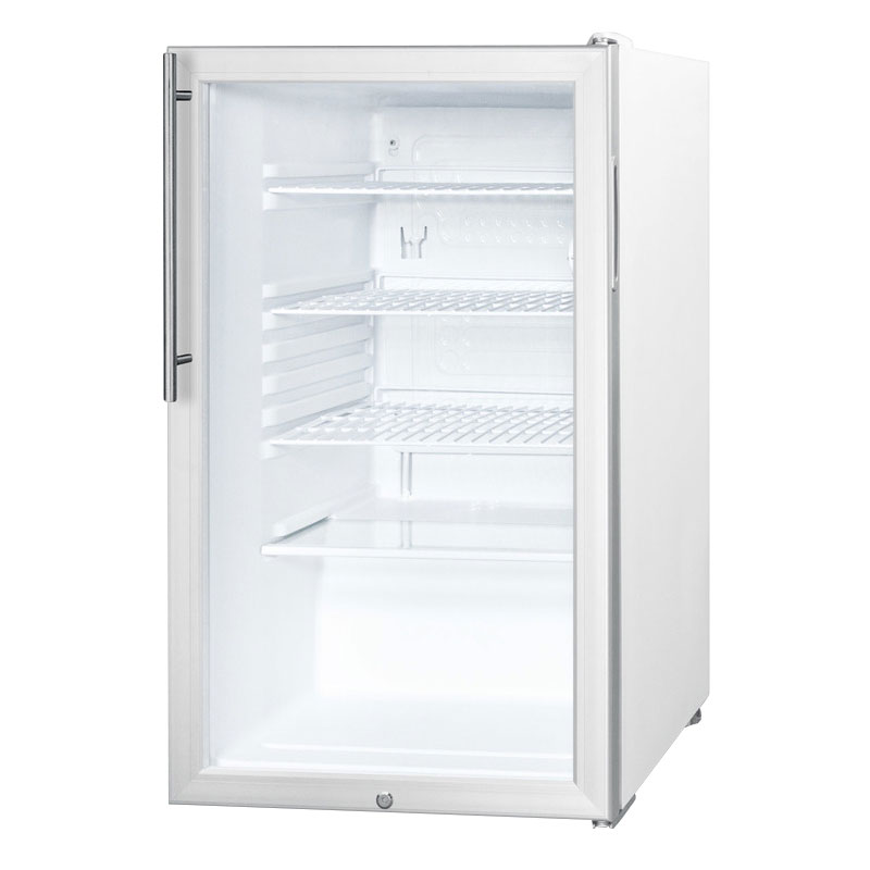 Summit Refrigeration SCR450LHD Undercounter Medical Refrigerator - Front Mount Lock, 115v