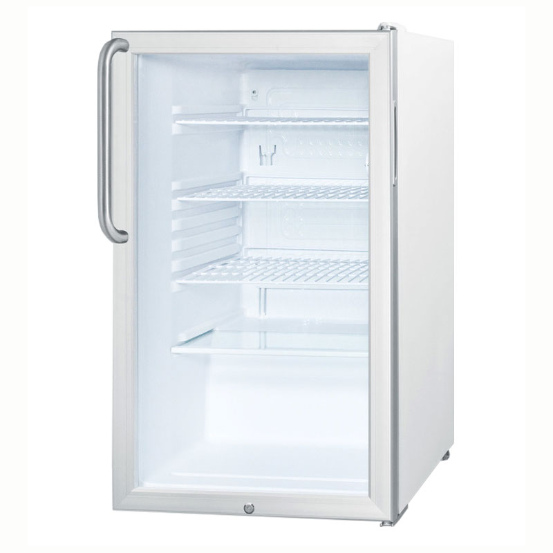 Summit Refrigeration SCR450LTB Undercounter Medical Refrigerator - Front Mount Lock, 115v