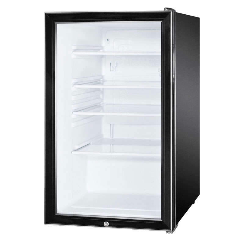 Summit SCR500BL7ADA 4.1-cu ft Undercounter Refrigerator w/ (1) Section & (1) Door, 115v