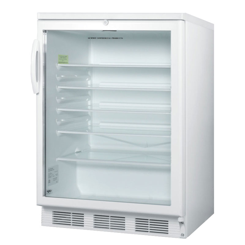 Summit SCR600L 24 Countertop Refrigerator w/ Front Access...