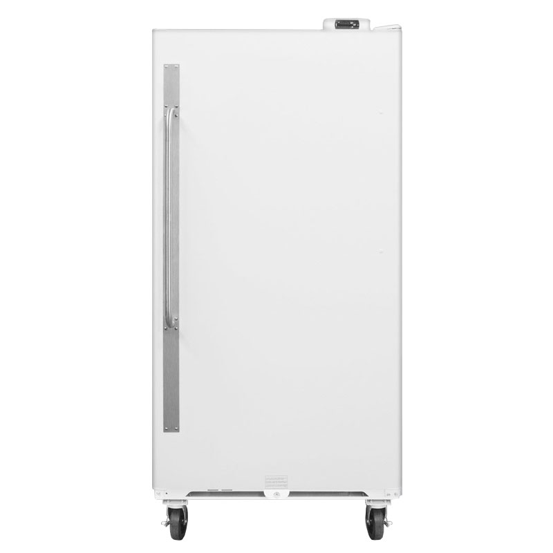 Summit SCUR18 Upright Freezer w/ 1-Section, Door Storage & Frost Free Defrost, White, 17.7-cu ft